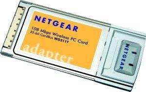 Netgear WG511T, Cardbus