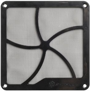 SilverStone SST-FF141B, dust filter 140mm square