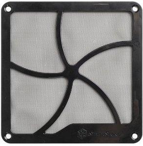 SilverStone SST-FF141B, Staubfilter 140mm quadratisch