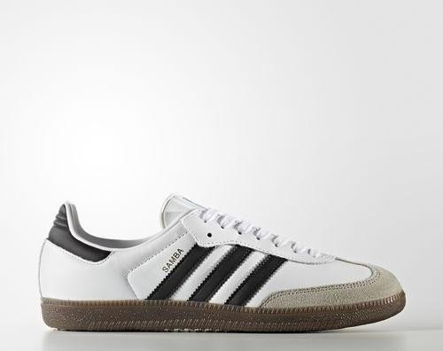 20c433e30842f7 adidas Samba OG footwear white core black clear granite (men ...