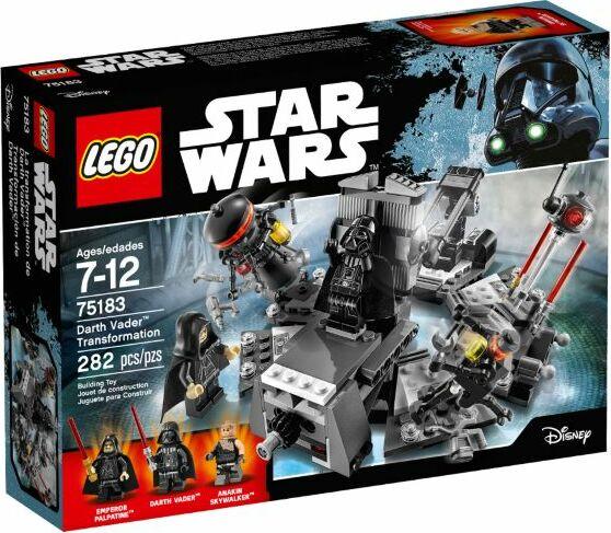 LEGO Star Wars Episodes I-VI - Darth Vader Transformation (75183)
