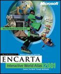 Microsoft: Encarta Weltatlas 2001 (English) (PC) (219-00291)