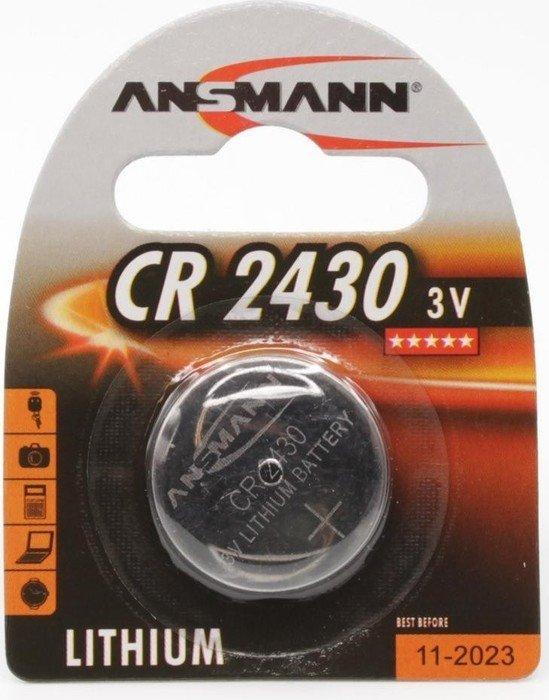 Ansmann CR2430 bateria pastylka, litowa, 3V (5020092)