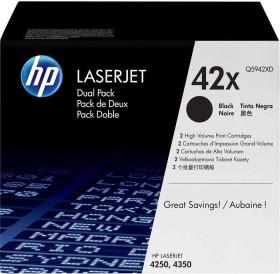 HP Toner 42X black, 2-pack (Q5942XD)