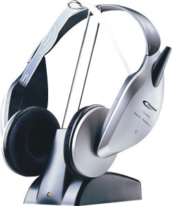 Anubis Typhoon RF Wireless Stereo Headset (50233)