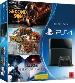 Sony PlayStation 4 - 500GB Triple Pack Bundle schwarz