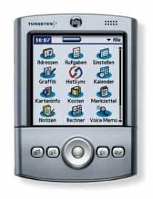 Palm Tungsten T niemiecki, 16MB, Palm OS 5.0 (P80850ML3)