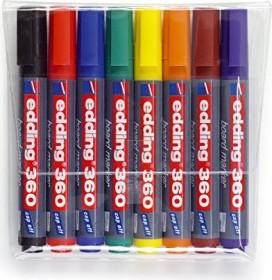 edding 360 Whiteboardmarker sortiert, 8er-Set (4-360-8)