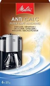 Melitta Anti Calc Filter cafe coffee machine descaler, 6x 20g (192632)