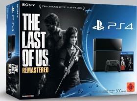 Sony PlayStation 4 - 500GB The Last of Us Remastered Bundle schwarz