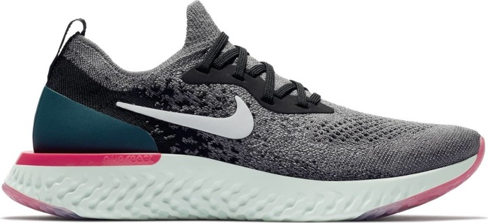 09b3dea48f5d Nike Epic React Flyknit gunsmoke black geode teal white (ladies) (AQ0070 -010)