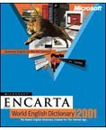 Microsoft: Encarta World Dictionary 2001 (angielski) (PC) (B88-00029)