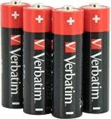 Verbatim Alkaline Mignon AA, 4-pack (49501)