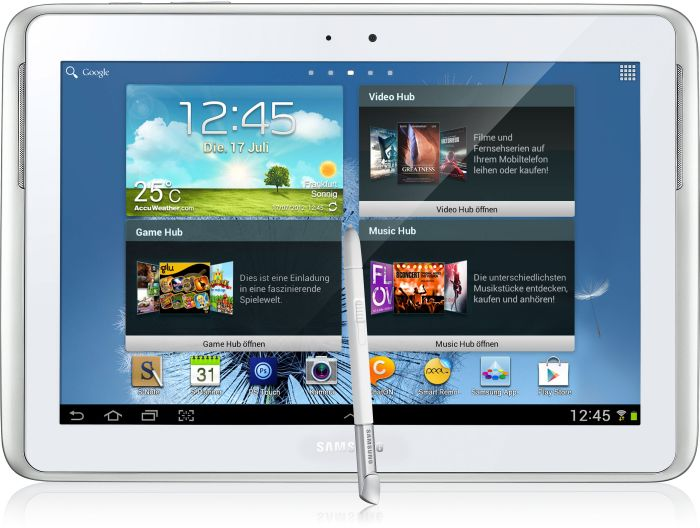 Samsung Galaxy Note 10.1 N8000 16GB white (GT-N8000ZWA)