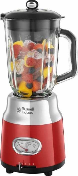 Russell Hobbs Retro Ribbon Glas Standmixer red (25190-56)