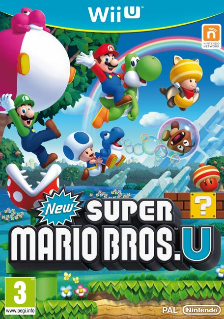 New Super Mario Bros U (English) (WiiU)