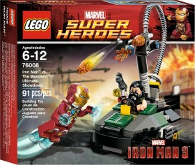 LEGO Marvel Super Heroes Play Set - Iron Man vs. The Mandarin: Ultimate Showdown (76008)