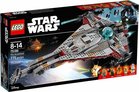 LEGO Star Wars Episodes I-VI - The Arrowhead (75186)
