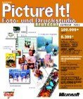 Microsoft Picture It 2001 photo+Druckstudio - Gold (English) (PC) (E25-00022)