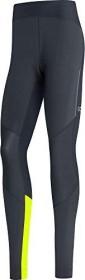 Gore Wear R5 Gore-Tex Infinium Tights Laufhose lang black/neon yellow (Herren) (100659-9908)