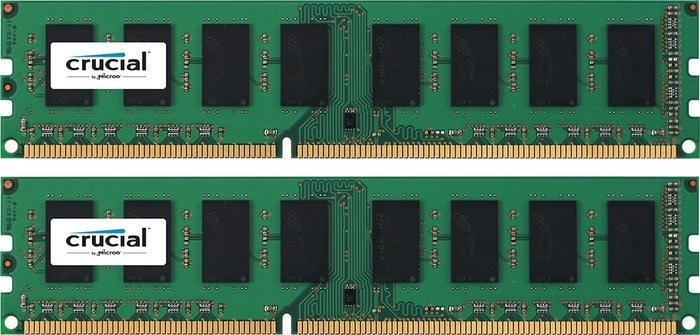 Crucial DIMM Kit  4GB PC3-10667U CL9 (DDR3-1333) (CT2KIT25664BA1339)