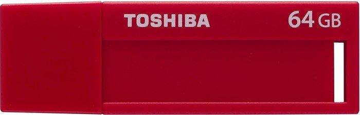 Toshiba TransMemory U302 rot 64GB, USB-A 3.0 (THN-U302R0640M4/THN-U302R0640MF)