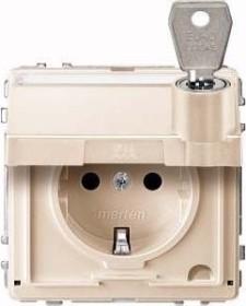 Merten Aquadesign SCHUKO-Steckdose, weiß (MEG2316-7244)
