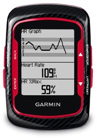 Garmin Edge 500 Red Bundle (010-00829-13)