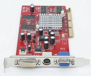 connect3D Radeon 9200, 64MB DDR, DVI, TV-out, AGP (6028)