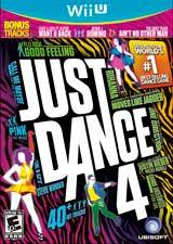 Just Dance 4 (English) (WiiU)