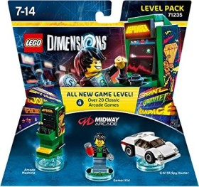 LEGO: Dimensions - Level Pack: Midway Arcade (PS3/PS4/Xbox One/Xbox 360/WiiU)
