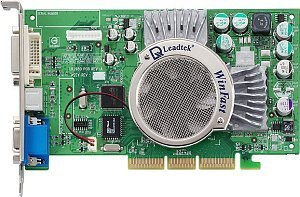 Leadtek WinFast A310-TD128, GeForceFX 5600, 128MB DDR, DVI, TV-out, AGP