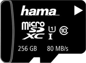 Hama R80 microSDXC 256GB Kit, UHS-I, Class 10 (124171)