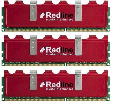 Mushkin Enhanced Redline Frostbyte DIMM Kit 6GB, DDR3-1600, CL6-8-6-24 (998805)