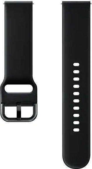 Samsung Sport Band 20mm für die Galaxy Watch Active schwarz (ET-SFR50MBEGWW)