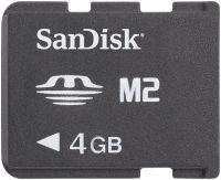SanDisk Memory Stick (MS) Micro M2 4GB (SDMSM2-4096) -- © SanDisk