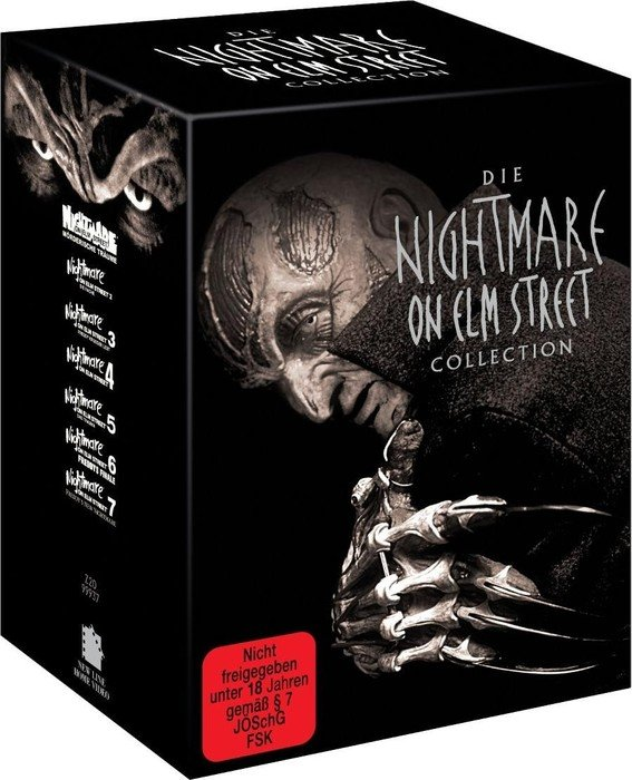 Nightmare on Elm Street Box (Filme 1-7)