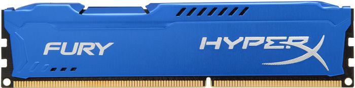 Kingston HyperX Fury blue DIMM 8GB, DDR3-1600, CL10 (HX316C10F/8)