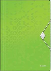 Leitz WOW Eckspannermappe A4, grün (45990054)