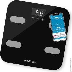 Medisana BS 602 connect electronic body analyser scale black (40503)