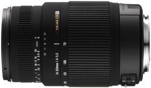 Sigma AF 70-300mm 4.0-5.6 DG OS für Nikon F schwarz (572955)