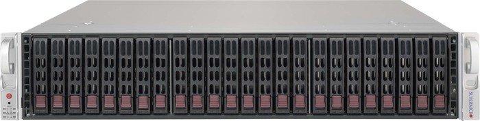 Supermicro SuperChassis 216BE1C-R741JBOD schwarz, 2HE, 740W redundant [Subsystem] (CSE-216BE1C-R741JBOD)
