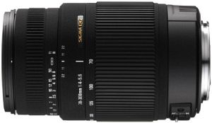 Sigma AF 70-300mm 4.0-5.6 DG OS for Sony A black (572962)