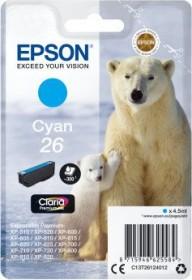 Epson Tinte 26 cyan (C13T26124010)