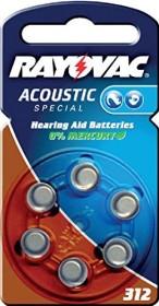 Rayovac Acoustic Special 312 (PR41/PR736) (04607-945-416)