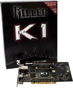 Bigfoot Networks Killer NIC K1, 1x 1000Base-T, 32-Bit PCI -- © xenmicro.com