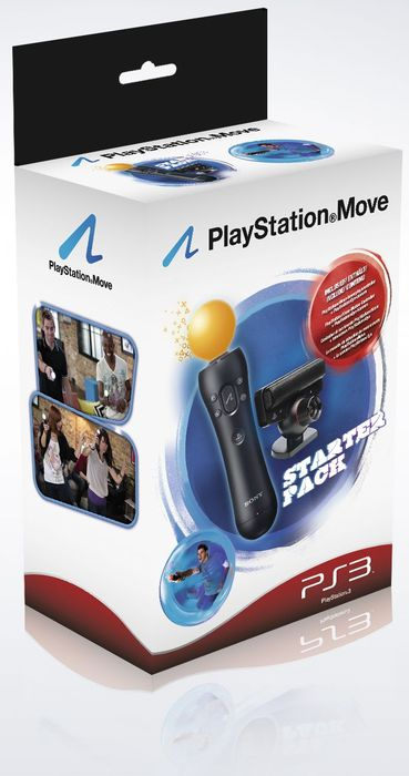 Sony Playstation Move Starter pack (various bundles) (PS3)