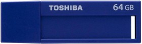 Toshiba TransMemory U302 blau 64GB, USB-A 3.0 (THN-U302B0640M4/THN-U302B0640MF)
