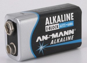 Ansmann 9V E-block NiMH rechargeable battery 250mAh (5030331)