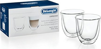 DeLonghi Cappuccino double-walled thermo glasses set, 2-piece. (5513214601)